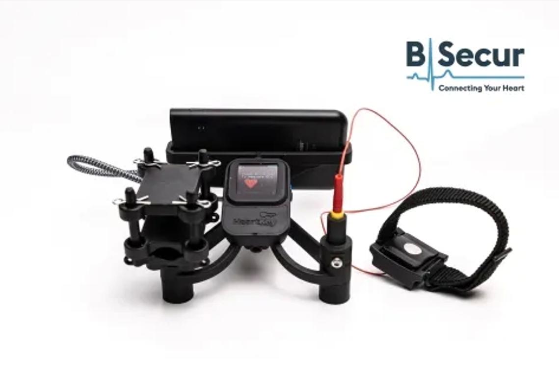 B-Secur推出世界上首个心电图开发套件,医疗级心电图可穿戴设备或将迎来爆发式增长